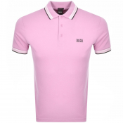 BOSS Athleisure Paddy Polo T Shirt Pink